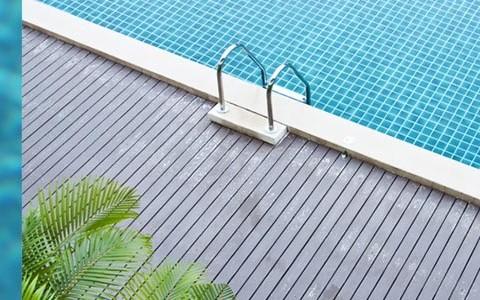 L'eau des piscines
